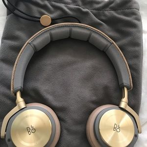 B & O on ear headphones
